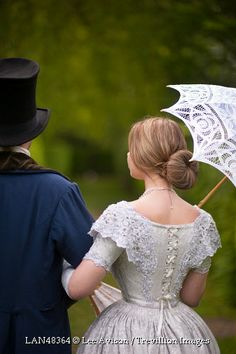 Trevillion Images - victorian-couple-walking