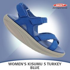 Take these for stroll on the beach without worrying about sea spray or sand – they're washable. Washable nubuck Leather straps finished with a microfiber footbed, MBT patented rockerSole and non-marking outsole. Sea Spray, Blue Sandals, Turkey, Footwear, Beach, Sneakers, Casual, Leather, Shoes