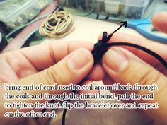 adjustable knot...may come in handy!