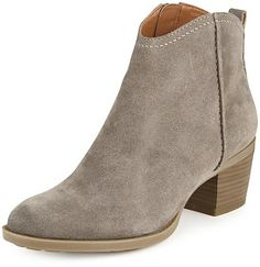 Pin for Later: Put Your Best Foot Forward in Autumn's Most Stylish Ankle Boots Marks and Spencer Indigo Collection Stain Away Suede Block Heel Ankle Boots Marks and Spencer Indigo Collection Stain Away Suede Block Heel Ankle Boots (£55)