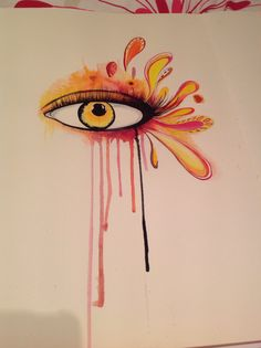 NOT FINISHED. Watercolour. Crying eye. Just for fun Crying Eyes, Just For Fun, Art Work, Watercolour, Painting, Artwork, Pen And Wash, Work Of Art, Watercolor Painting