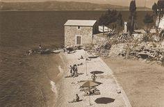 Ribarska Kućica Beach in Bol - Celebrating 90 years of Tourism Croatia, Paris Skyline, Tourism, Beach, Travel, Turismo, Viajes, Seaside, Trips