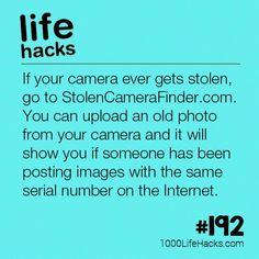 The post – How To Find A Stolen Camera appeared first on 1000 Life Hacks.The post – How To Find A Stolen Camera appeared first on 1000 Life Hacks. Simple Life Hacks, Useful Life Hacks, Awesome Life Hacks, Tech Hacks, Hacks Diy, 1000 Lifehacks, Tips & Tricks, School Hacks, Survival Tips