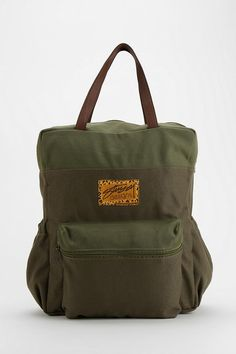 Stussy Everything Canvas Backpack #urbanoutfitters