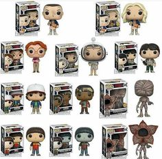 Stranger Things Funko POP I'm getting this whole series Stranger Things is best
