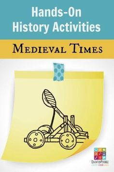 The Medieval Period in European history is well know by children of all ages for castles, battles, arts, and architecture. The time between the fall of Rome and the beginning of the Renaissance offers families many opportunities to learn through literatur History Classroom, History Teachers, Teaching History, Teaching Resources, European History, British History, American History, Middle Ages History, 2 Kind