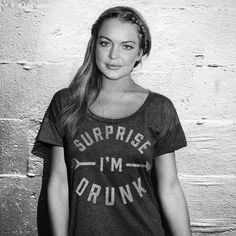 Good to know that @lindsaylohan has a sense of humor about it... #surpriseimdrunk #buymebrunch