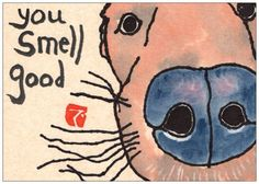 SPECIAL LOW PRICE: Labrador Retriever Etegami Postcards (Set of 5)