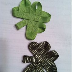 girl scout trefoil craft | crafts