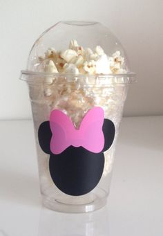 Minnie Mouse Snack Cups