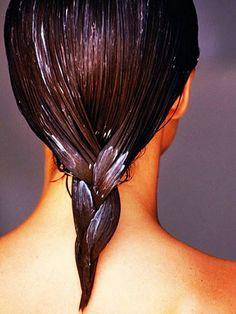 olive oil hair mask