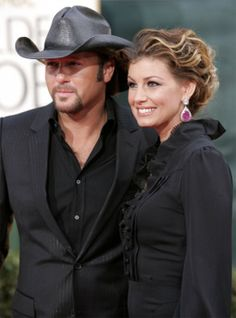 Tim McGraw and Faith Hill, married 15 years.