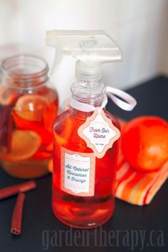 Vinegar and Orange all Natural Cleaning Spray