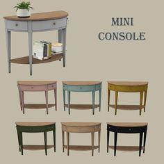Mini Console at Leo Sims • Sims 4 Updates