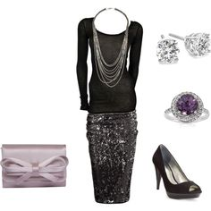 dinner outfit, created by shepoole on Polyvore