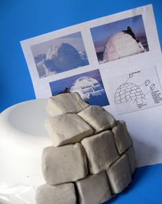 Activities: Practice Counting with an Igloo Sculpture I think I'll try this in January