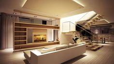 Diseño de Interiores & Arquitectura: Tendencias para Salas Modernas y Espaciosas