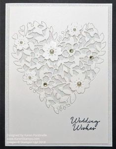 Make a handcrafted wedding card for the Royal wedding couple Prince Harry and Meghan Markle with Stampin' Up! Last-Chance products. cards A Handcrafted Wedding Card For the Royal Wedding Couple Wedding Day Cards, Wedding Shower Cards, Wedding Cards Handmade, Wedding Signs, Anniversary Cards For Couple, Wedding Anniversary Cards, Handmade Anniversary Cards, Engagement Cards, Stamping Up Cards