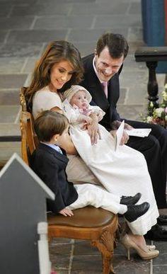 Princesse Marie et Prince Joachim en famille