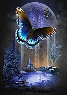 Beautiful Nature Wallpaper, Beautiful Moon, Butterfly Pictures, Butterfly Art, Butterfly Painting, Butterfly Wallpaper Iphone, Butterfly Background, Moon Art, Beautiful Butterflies