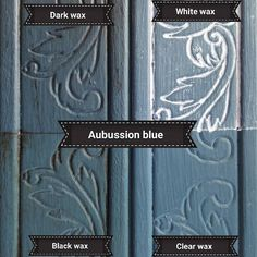 Chalk Paint® by Annie Sloan in Aubusson Blue with several Chalk Paint® Waxes | Annie Sloan Stockist ISIN MUMCU ATOLY in Istanbul, Turkey