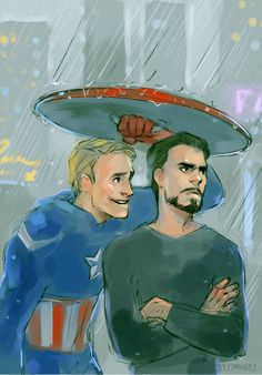 Can I help you? by *MisterKay This artist, is fantabulous! They also ship tony and Stark, which of course I couldn't resist doing after seeing the Avengers movie! I mean, Cap'n and Stark are just adorable together! Stony Avengers, Marvel Avengers, Superfamily Avengers, Stony Superfamily, Marvel Heroes, Loki, Thor, Steve And Tony, Tony Stark Steve Rogers