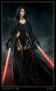 Female Sith Lord, love the shoulder spikes Mais Star Wars Mädchen, Star Wars The Old, Star Wars Girls, Female Sith Lords, Starwars, Star Wars Personajes, Star Wars Pictures, Star Wars Characters, Fantasy Characters