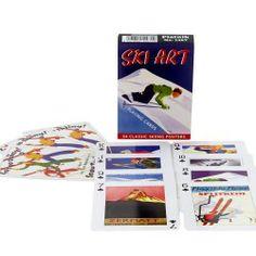 Skiing, Retro, Winter, Board Games, Ski, Winter Time, Rustic, Mid Century