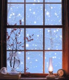 Whether 8 or do you still rush to the window at the first snow fall? Retain the child within you & you will always relish the wonders of our world. Winter Szenen, I Love Winter, Winter Magic, Winter Night, Winter Season, Winter Christmas, Christmas Time, Ventana Windows, Foto Gif
