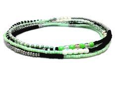 Beaded stretch wrap bracelet multi strand bead by JewelRiot, $24.00