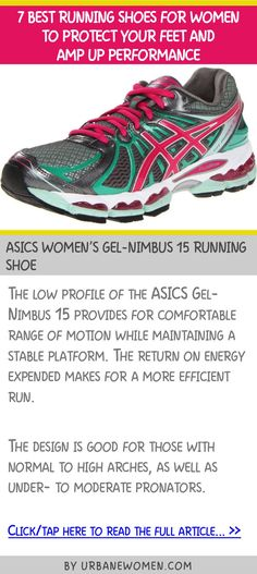 7 best running shoes for women to protect your feet and amp up performance - ASICS Women's GEL-Nimbus 15 running shoe