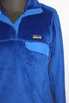 awesome PATAGONIA FLEECE PULLOVER JACKET