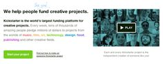 Why entrepreneurs and marketers need to pay attention to Kickstarter    Start your project