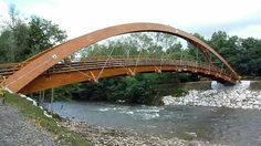Pasarelas de madera. Puentes de madera. Wood Bridges. Timber Bridges