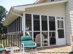 Eze-Breeze Is A Clear Alternative To Traditional Glass Porch Windows