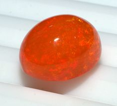 Natural Ethiopian Opal cabochon AAA Quality Orange Opal Jewelry Making LooseOpal #Opalcreation