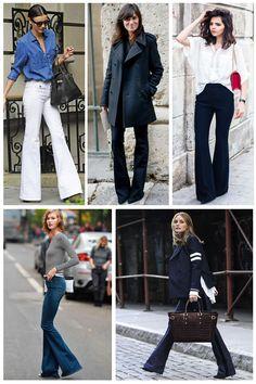 Tendencia 2015: pantalones de campana