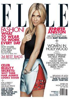 Jennifer Aniston for Elle US, November 2011