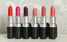 My top 6 Mac Lipsticks.  http://wwwclairabelle.blogspot.com/2015/10/my-mac-lipstick-collection-2015.html