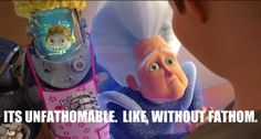 Image result for unfathomable scene megamind