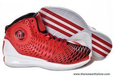 Discounts Adidas AdiZero Derrick Rose 3.5 Varsity Red White