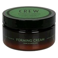 American Crew's Forming Cream provides high-hold and pliability with natural shine.