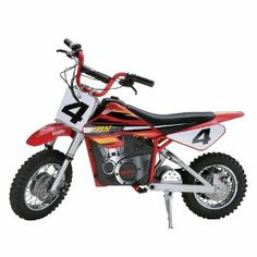 Razor MX500 Dirt Rocket Electric Motocross Bike ~ List Price:	$399.99 ~  Price:	$399.00 ~  You Save: $ 0.99