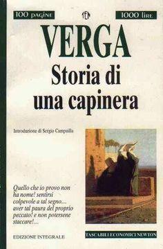 Storia di una Capinera, scritto nell'estate del 1869, è il primo romanzo di Giovanni Verga. Ambientato in una cornice di vita borghese siciliana, è incentrato sull'infelice vicenda d'amore di una ragazza che la consuetudine dell'ambiente e del costume dell'epoca vogliono destinata al convento...
