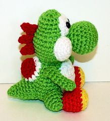 Free pattern on Ravelry called Mini Yoshi Friend by Mary Smith