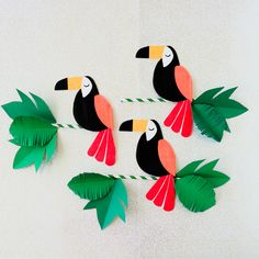 School Decorations, Birthday Decorations, Diy Jungle Decorations, Safari Theme Birthday, Adult Party Themes, Art Drawings For Kids, Paper Crafts Origami, Jungle Party, Paper Artwork