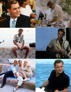 The Talented Mr. Ripley- my favorite movie - and I LOVE the clothing!