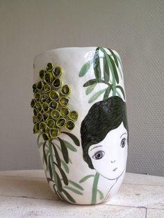 nathalie choux: Vase à euphorbes