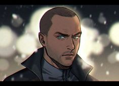Detroit become human Markus By: @hello_kan