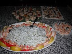 Fish appetizer/Antipasto di pesce Antipasto, Cobb Salad, Appetizers, Cheese, Fish, Appetizer, Pisces, Entrees, Hors D'oeuvres